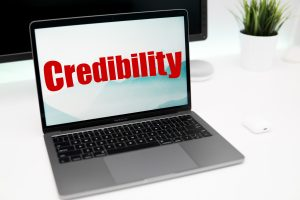 your website is your credibility